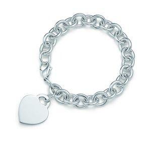 Tiffany Heart Charm Bracelet